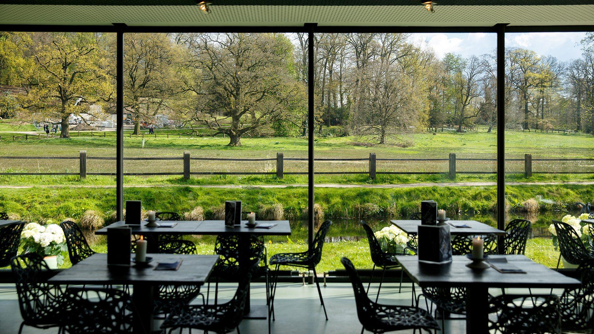 Vergaderlocatie in Arnhem in de natuur Grand cafe aan de Beek