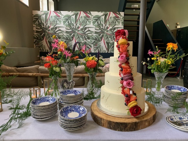 taart trouwfeest grand cafe aan de beek